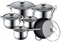 Уникальный набор посуды Swiss Family SF-1225M на 12 предметов