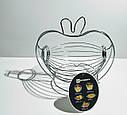 Фруктовница подвесная корзина для фруктов Яблоко GA Dynasty 1029, фото 4