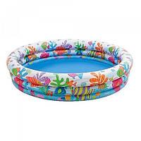 Бассейн детский надувной Intex 59431 (132х28см)