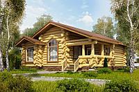 Будівництво будинків з дикого брусу, фото 1