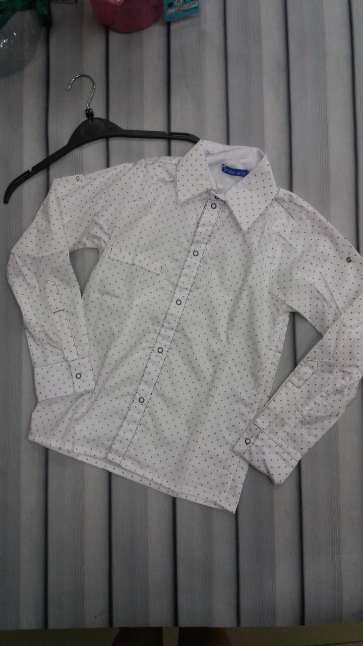 Рубашка для мальчика в штрих