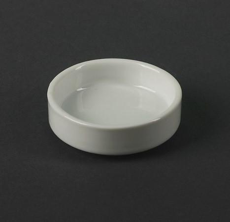 Соусник таблетка білий порцеляновий 40 мл HR1561