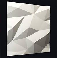 Декоративные гипсовые 3D панели «Кристаллы» , фото 1