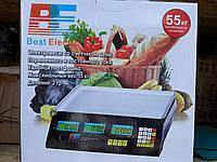 Весы торговые со счетчиком цены Best Electro до 50кг