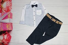 Костюм для мальчика Рубашка + штаны Турция от 1 до 4 лет