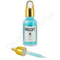 Кислотный ремувер для кутикулы Heart с пипеткой 30мл. (Бирюзовый)