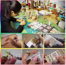 Кукольный домик Новогоднее настроение своими руками, фото 3