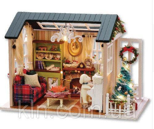 Кукольный домик Новогоднее настроение своими руками
