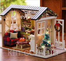 Кукольный домик Новогоднее настроение своими руками, фото 2