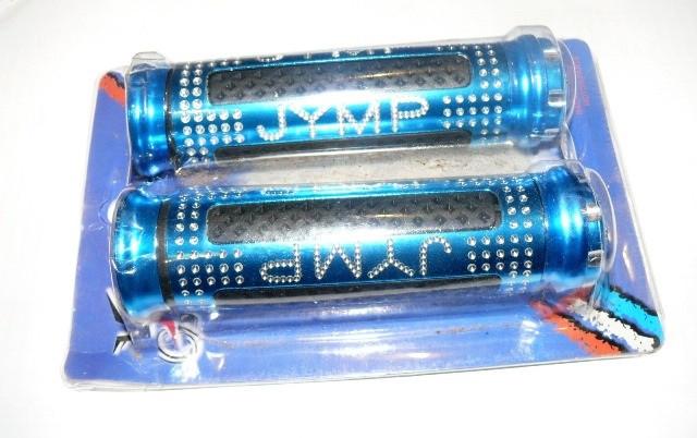 Ручки руля JYMP (пара) синие