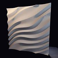 Декоративные гипсовые 3D панели «Дюны» , фото 1