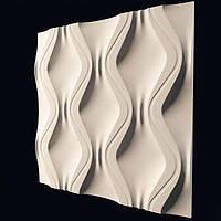 Декоративные гипсовые 3D панели «Змейка» , фото 1