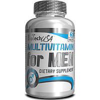 Витамины для мужчин BioTech Multivitamin for Men 60 tabs