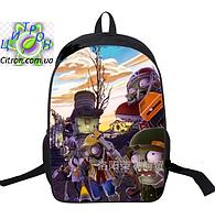 Рюкзак школьный городской Растения против зомби, фото 1