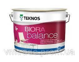 Текнос Биора Баланс, 0,9 л, Б3 - матовая краска для стен