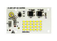 Светодиодная LED матрица 20Ватт SMD2835 24Led 220V ( встроенный драйвер ) 64*38mm, фото 1