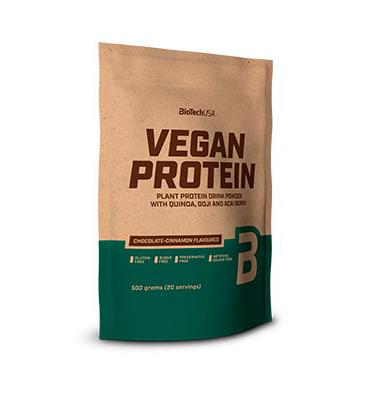 Комплекс рослинних білків BioTech Vegan Protein 2000 g, фото 2
