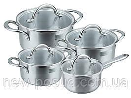 Набор посуды из нержавеющей стали 8 предметов Rondell Destiny RDS-744