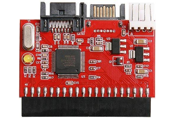 Універсальний конвертер для жорстких дисків SATA на IDE канал і з IDE на SATA