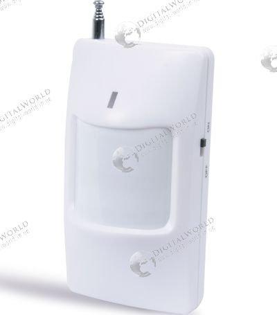 Бездротовий датчик руху для GSM сигналізації