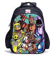 Рюкзак школьный городской FNAF 5 ночей с Фредди, фото 1