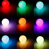 Cветодиодная LED лампочка 4W с пультом цветная + белый свет RGBW поддержка димера анимация цветов, фото 10
