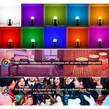 Cветодиодная LED лампочка 4W с пультом цветная + белый свет RGBW поддержка димера анимация цветов, фото 4