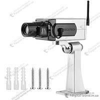 Муляж поворотной камеры с сенсорным датчиком на движение и световым индикатором