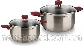 Набор посуды из нержавеющей стали 4 предмета Rondell Strike RDS-816
