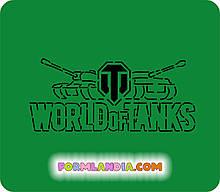 Трафарет + формочка-вырубка для пряников World of tanks