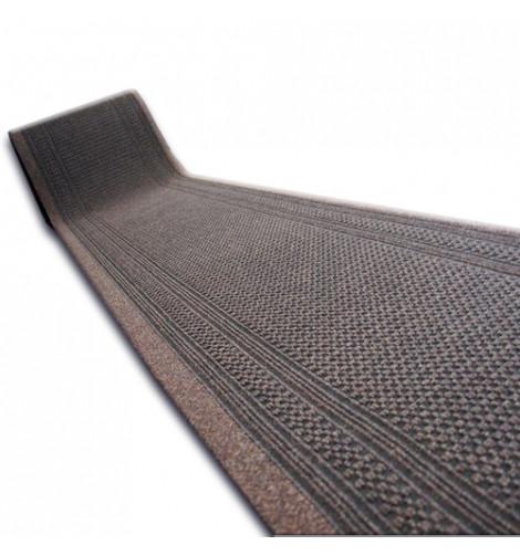 Придверный коврик Лущув Aztec 80x200 см коричневый прямоугольный (@36788)