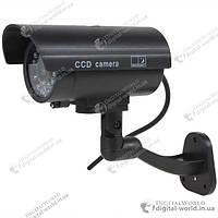 Муляж наружной камеры видеонаблюдения с имитацией проводки и мигающим светодиодом