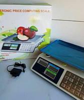 Весы торговые электронные с Металлическими кнопками Opera 50кг