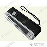 Портативний ультрафіолетовий детектор валют DL-01 для перевірки грошових купюр, фото 2