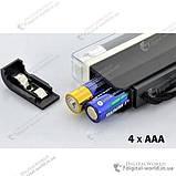 Портативний ультрафіолетовий детектор валют DL-01 для перевірки грошових купюр, фото 3