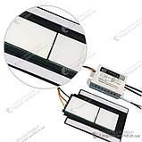 Сенсорный выключатель на зеркало XD-630 с подсвечиваемой площадкой под логотип производителя зеркала, фото 4