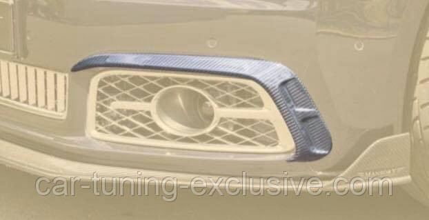 MANSORY front bumper splitter for Bentley Mulsanne