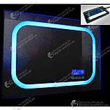 Цифровой экран для зеркала K3014, сенсорные кнопки, температура, дата время, управление подсветкой, фото 2