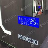 Цифровой экран для зеркала K3014, сенсорные кнопки, температура, дата время, управление подсветкой, фото 4