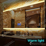 Цифровой экран для зеркала K3014, сенсорные кнопки, температура, дата время, управление подсветкой, фото 5