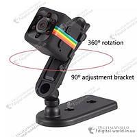 Миниатюрная видеокамера регистратор SQ11, Full HD 1080P, ночное видение, спортивная съемка
