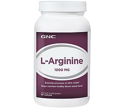 Спортивна добавка GNC L-Arginine 1000 mg 90 caps
