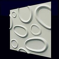 Декоративные гипсовые 3D панели «Брызги» , фото 1