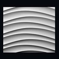 Декоративные гипсовые 3D панели «Бриз»
