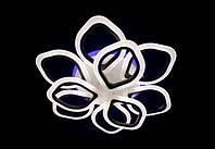Люстра светодиодная акрил 5576/6+3 BK+LED+RGB***