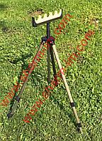 Подставка универсальная тренога (штатив) фидерная для удилищ или камеры 1,5 м телескоп Алюминий, фото 1