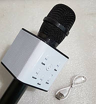 Мікрофон + караоке Bluetooth Q7, фото 2