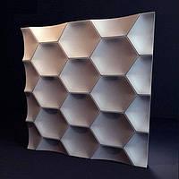 Декоративные гипсовые 3D панели «Медок» , фото 1