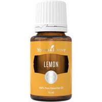 Эфирное масло лимона. Растворяет камни, улучшает кроветворение, снижает давление. Young Living. 15 мл