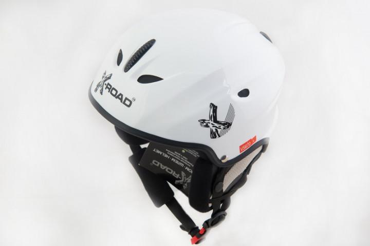 Шлем X-Road 670 white М белый Шлем горнолыжный, сноубордический